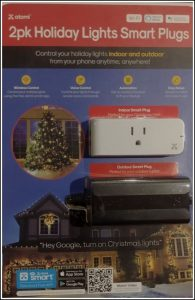 Atomi Christmas Light Plug Package